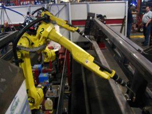 Fanuc robotic welding